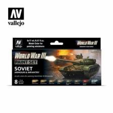 Vallejo WWIII Soviet Armour & Infantry Paint Set