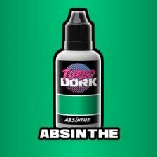 Absinthe Metallic Acrylic Paint 20ml Bottle