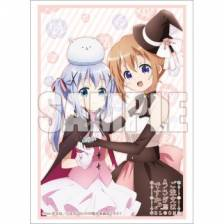 Bushiroad Sleeve Collection Extra Vol.356 Is It Usagi You Order? BLOOM [Cocoa & Chino] (60 Sleeves)
