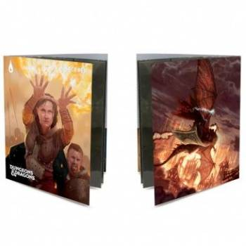 UP - Class Folio with Stickers for Dungeons & Dragons - Sorcerer