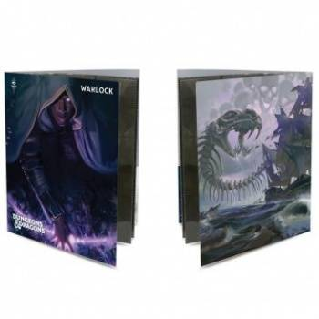 UP - Class Folio with Stickers for Dungeons & Dragons - Warlock