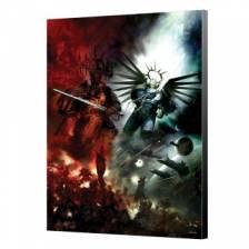 Gulliman VS Abaddon Wood Panel - Warhammer 40K