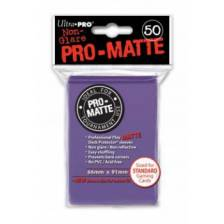 UP - Standard Sleeves - Pro-Matte - Non Glare - Purple (50 Sleeves)