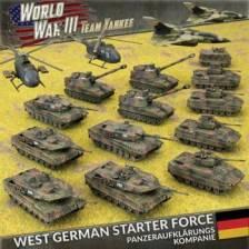 WWIII: West German Starter Force - Panzeraufkl?rungs Kompanie (Plastic)