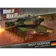 WWIII: West German Unit Cards