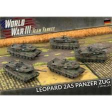 WWIII: Leopard 2A5 (x5 Plastic)