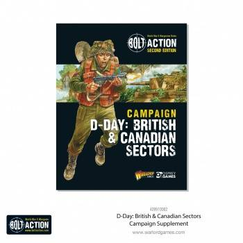 Bolt Action D-Day: British & Canadian Sectors