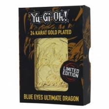 Yu-Gi-Oh! Limited Edition 24K Gold Plated Collectible - Blue Eyes Ultimate Dragon