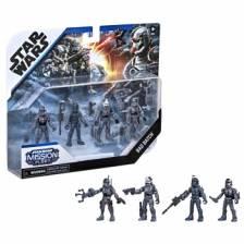 Star Wars THE BAD BATCH: Mission Fleet Clone Commando Clash Pack
