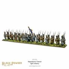 Black Powder Napoleonic War Late French Light Infantry