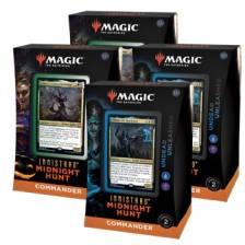 MTG - Innistrad: Midnight Hunt Commander Deck Display (4 Decks)
