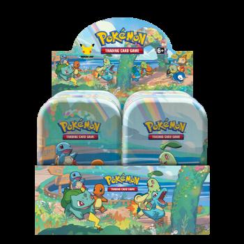 Pokémon - Celebrations Mini Tin Display (8 Tins)