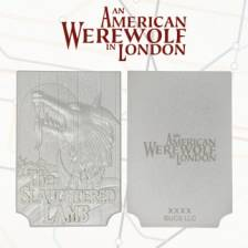 American Werewolf in London limited edition silver plated replica