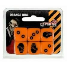 Zombicide: Orange Special Dice (6)