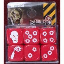 Zombicide: Red Special Dice (6)