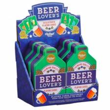 Beer Lover's Playing Cards CDU of 6
