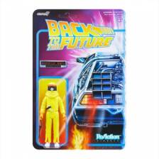 Back To The Future Marty Mcfly Radiation Suit Reaction Figure