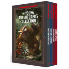 The Young Adventurer's Collection Dungeons & Dragons 4-Book Boxed Set