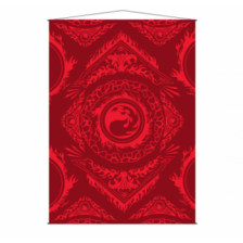 UP - WallScroll for Magic: The Gathering Mana 7 Mountain