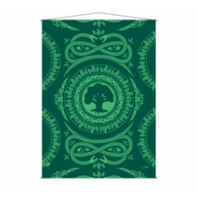 UP - WallScroll for Magic: The Gathering Mana 7 Forest