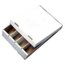 Cardbox / Fold-out Box with Lid for Storage of 4,000 Cards