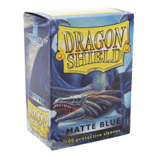 Dragon Shield Standard Sleeves - Matte Blue (100)