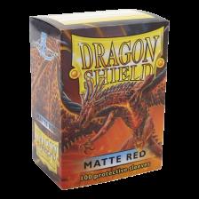 Dragon Shield Standard Sleeves - MATTE Sleeves - RED(100)