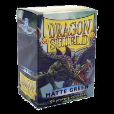 Dragon Shield Standard Sleeves - Matte Green (100)