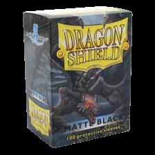 Dragon Shield Standard Sleeves - Matte Black (100)