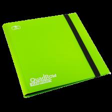 Ultimate Guard 12-Pocket QuadRow FlexXfolio Light Green