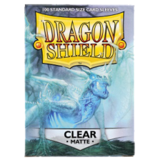 Dragon Shield Standard Sleeves - MATTE CLEAR(100)
