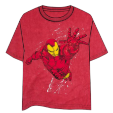 Iron Man Fly Red T-Shirt - Size S