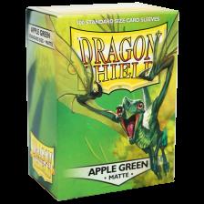 Dragon Shield Standard Sleeves - MATTE Sleeves - APPLE GREEN(100)