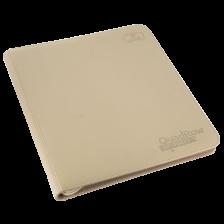 Ultimate Guard 12-Pocket QuadRow ZipFolio XenoSkin Sand