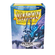 Dragon Shield Standard Sleeves - MATTE Sleeves - PETROL (100)