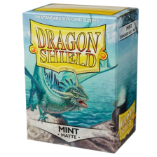 Dragon Shield Standard Sleeves - MATTE Sleeves - MINT (100)