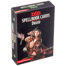 D&D Spellbook Cards - Druid (131 Cards)