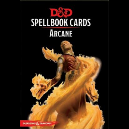 D&D Spellbook Cards - Arcane (257 Cards)