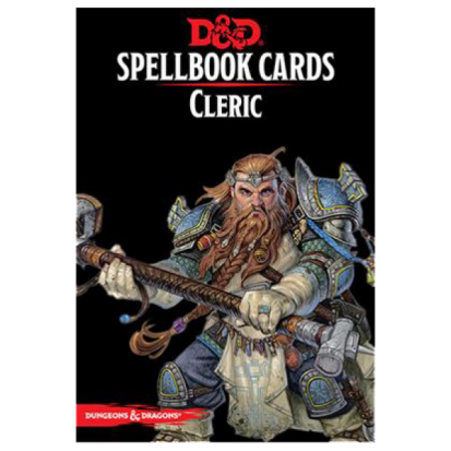 Dungeons & Dragons - Spellbook Cards - Cleric (153 Cards)