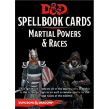Dungeons & Dragons - Spellbook Cards - Martial Powers & Races (61 Cards)