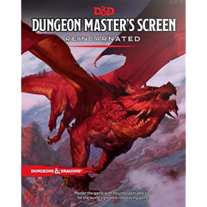 Dungeons & Dragons - Dungeon Master's Screen Reincarnated