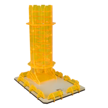 Blackfire Dice Tower - Amber Twister