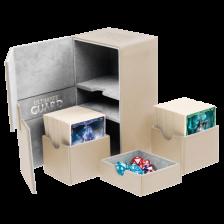 Ultimate Guard Twin Flip´n´Tray Deck Case 160+ Standard Size XenoSkin Sand