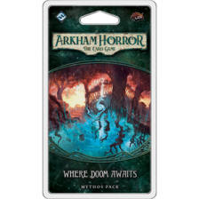 Where Doom Awaits Mythos Pack: Arkham Horror LCG Exp.