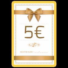 Kinkekaart 5€