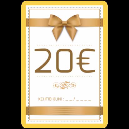 Kinkekaart 20€