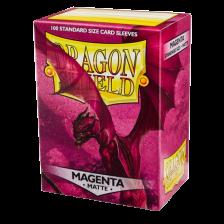 Dragon Shield Standard Sleeves - MATTE Sleeves - MAGENTA(100)