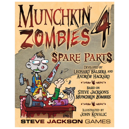 Munchkin Zombies 4: Spare Parts
