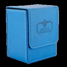 Ultimate Guard Flip Deck Case 80+ Standard Size Blue