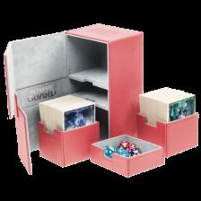 Ultimate Guard Twin Flip´n´Tray Deck Case 200+ Standard Size XenoSkin Red